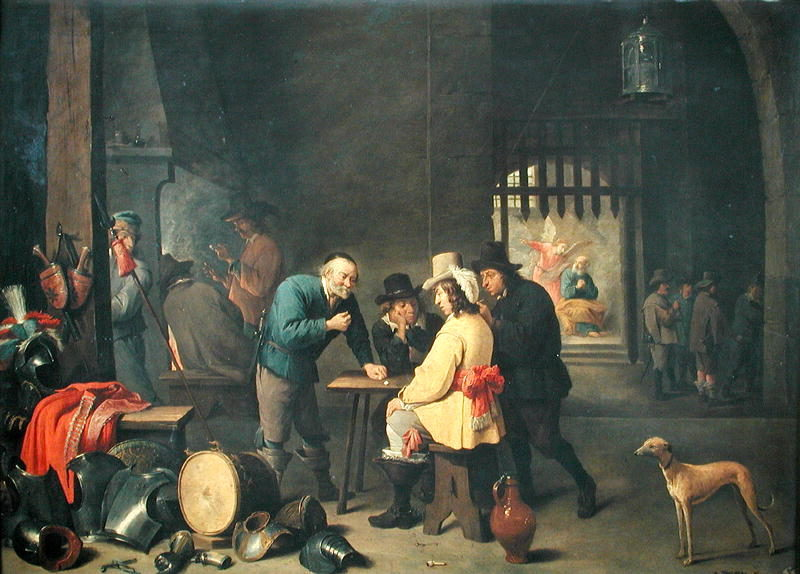 The Guard Room | David the Elder Teniers | oil painting