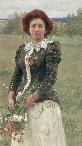 Spring Bouquet | Ilya Efimovich Repin | oil painting