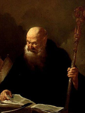 St Benedict | or Piazetta Giambattista Piazzetta | oil painting