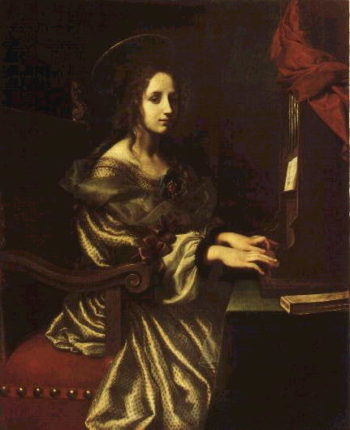 St Cecilia | Carlo Dolci | oil painting