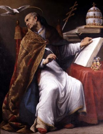 St Gregory | Andrea Sacchi | oil painting