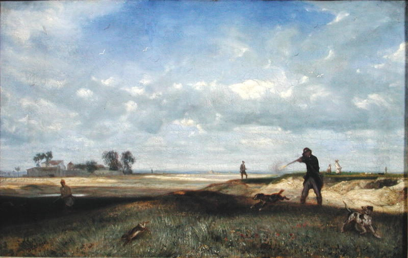 The Hunt 1847 | Alexandre Gabriel Decamps | oil painting
