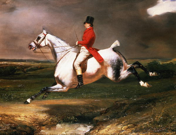 The Hunter 1831 | Alfred Dedreux | oil painting