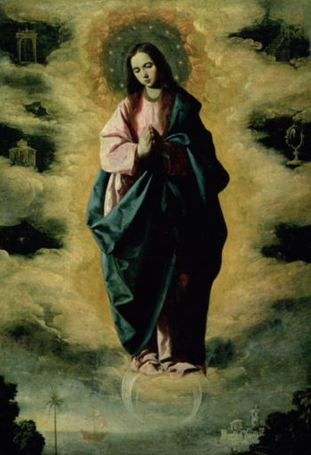 The Immaculate Conception 1630 35 | Francisco de Zurbaran | oil painting