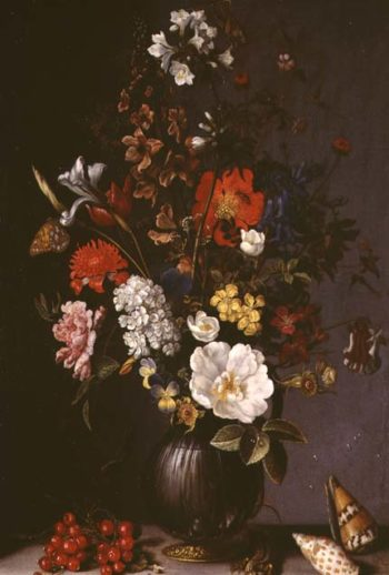 Still life with Flowers | Balthasar van der Ast | oil painting