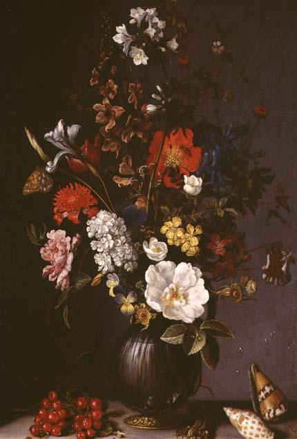 Still life with Flowers   Balthasar van der Ast   oil painting
