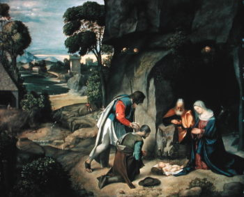 The Adoration of the Shepherds 1505 10 | Giorgione | oil painting
