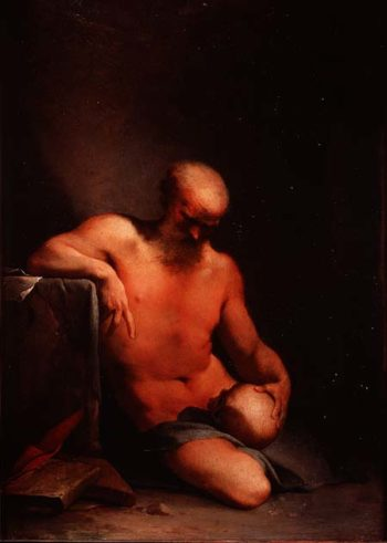 St Jerome | Lubin Baugin | oil painting