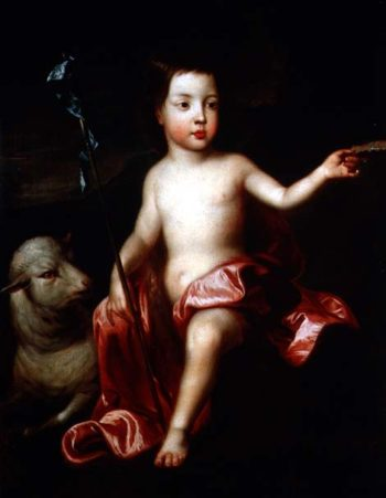 St John the Baptist in the Wilderness | Sir Godfrey Kneller | oil painting