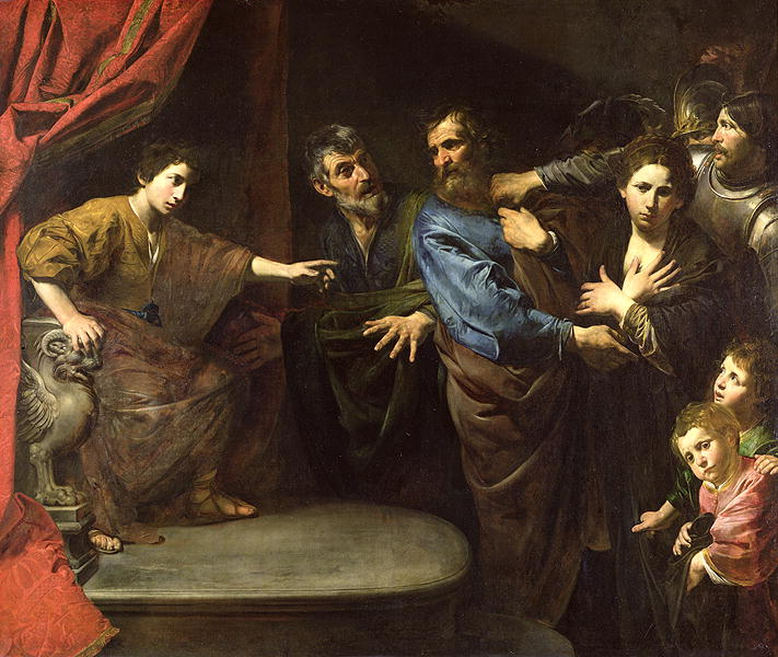 The Judgement of Daniel or The Innocence of Susanna | Valentin de Boulogne | oil painting