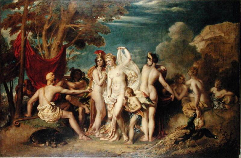 The Judgement of Paris | William Etty | oil painting