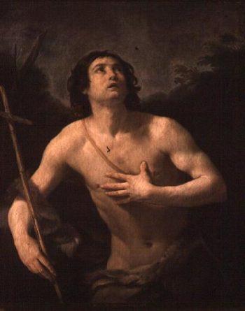 St John the Baptist   Guido Reni   oil painting