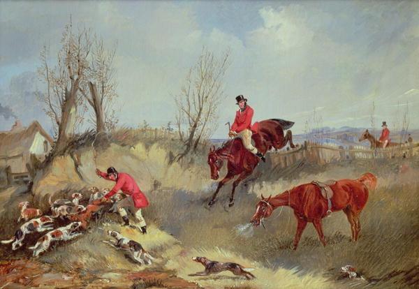 The Kill   Henry Thomas Alken   oil painting