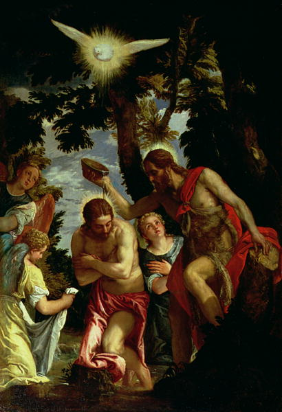 The Baptism of Christ | Veronese | oil painting