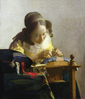 The Lacemaker 1669 70 | Jan Vermeer | oil painting