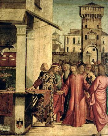 The Calling of St Matthew | Vittore Carpaccio | oil painting