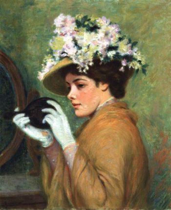 The Last Glance | Federigo Zandomeneghi | oil painting