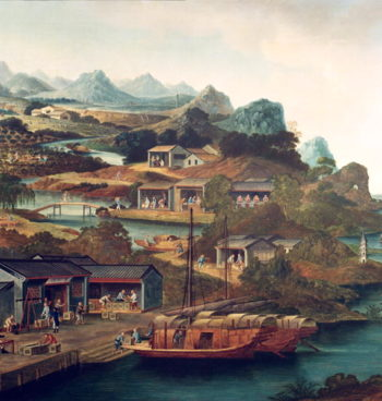 Tea Trade in China | George Chinnery | oil painting