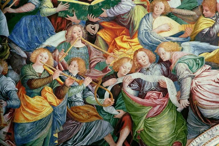 The Concert of Angels 1534 36 | Gaudenzio Ferrari | oil painting