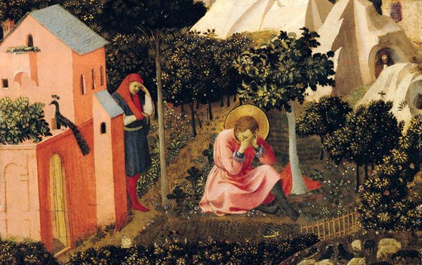 The Conversion of St Augustine | Fra Angelico | oil painting