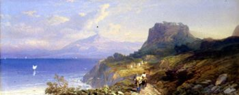 Taormina 1861 | Thomas Miles Richardson | oil painting