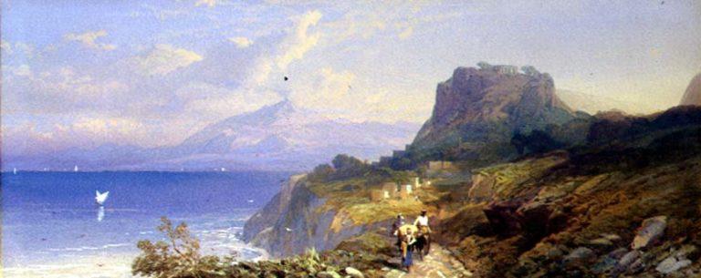 Taormina 1861 | Thomas Miles Richardson | oil painting