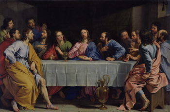 The Last Supper 1648 | Philippe de Champaigne | oil painting