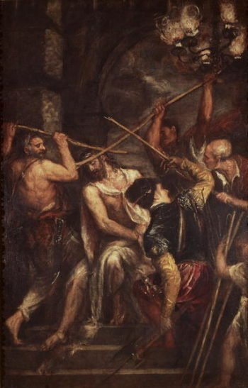 The Crowning with Thorns | Titian | oil painting