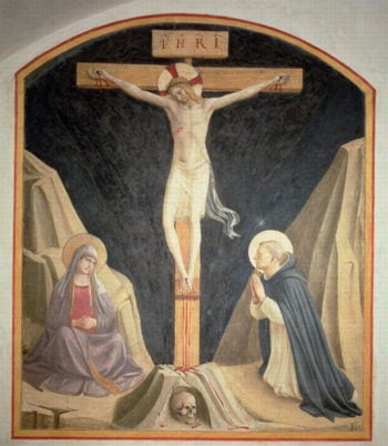 The Crucifixion 1442 | Fra Angelico | oil painting