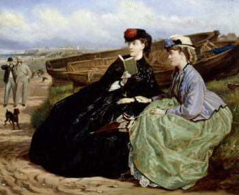 The Admirers | Charles Wynne Nicholls | oil painting