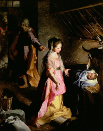 The Adoration of the Child 1597 | Federico Fiori Barocci or Baroccio | oil painting