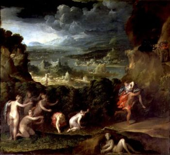 The Abduction of Proserpine | Nicolo dell' Abate | oil painting