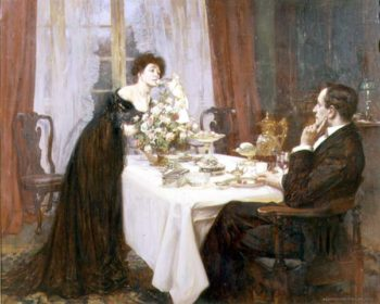 The Anniversary 1909 | Albert Chevallier Tayler | oil painting