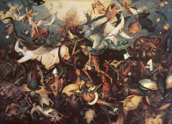 The Fall of the Rebel Angels 1562 | Pieter the Elder Brueghel | oil painting