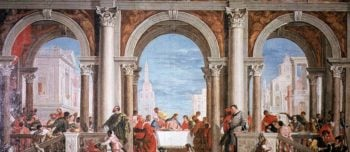 The Feast in the House of Levi | Veronese | oil painting