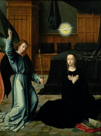 The Annunciation | Gerard David | oil painting