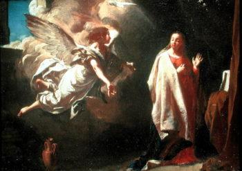 The Annunciation | Giambattista Piazzetta | oil painting