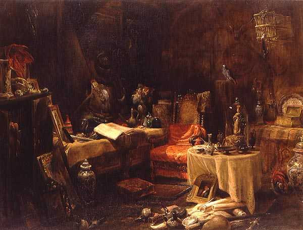 The Antiquary's Cell | Edward William Cooke | oil painting