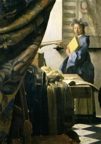 The Artist's Studio 1665 6 | Jan Vermeer | oil painting