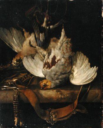 The Bag 1679 | Willem van Aelst | oil painting