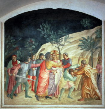 The Kiss of Judas 1442 | Fra Angelico | oil painting
