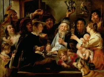 The Bean King | Jacob Jordaens | oil painting