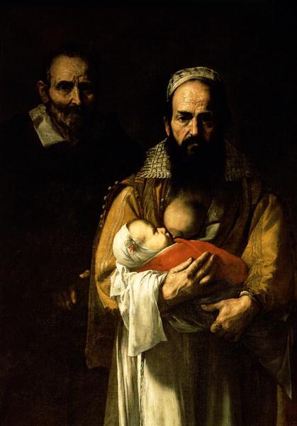 The Bearded Woman Breastfeeding 1631 | Jusepe de Ribera | oil painting