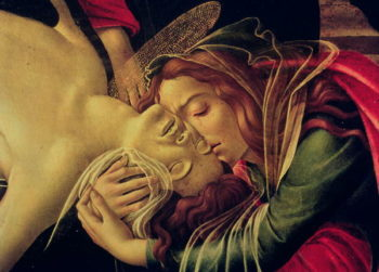 The Lamentation of Christ 1490 | Sandro Botticelli | oil painting