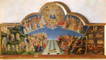 The Last Judgement altarpiece from Santa Maria degli Angioli 1431 | Fra Angelico | oil painting