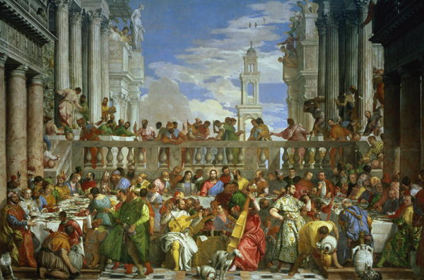 The Marriage Feast at Cana 1562 | Veronese | oil painting