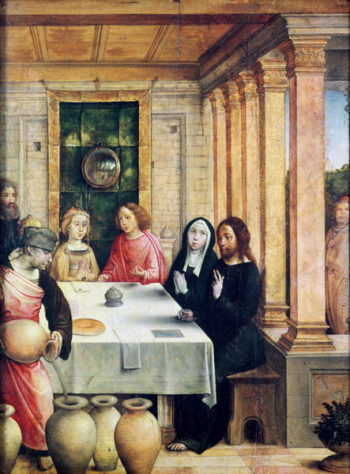 The Marriage Feast at Cana | Juan de Flandes | oil painting