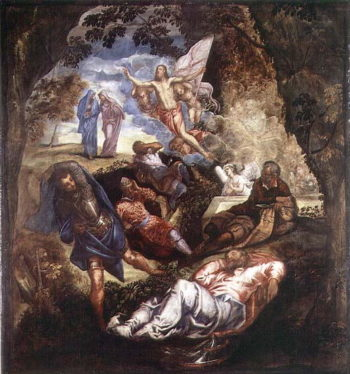 The Resurrection of Christ | Jacopo Robusti Tintoretto | oil painting