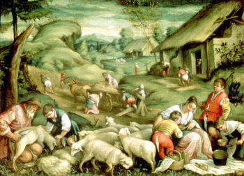 Summer 1570 80 | Francesco Bassano | oil painting