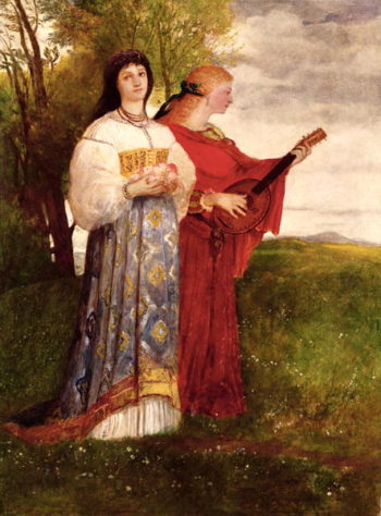 Summer 1873   Arnold Bocklin   oil painting